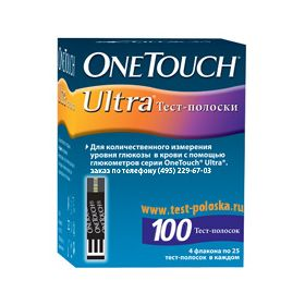 Тест полоски One Touch Ultra